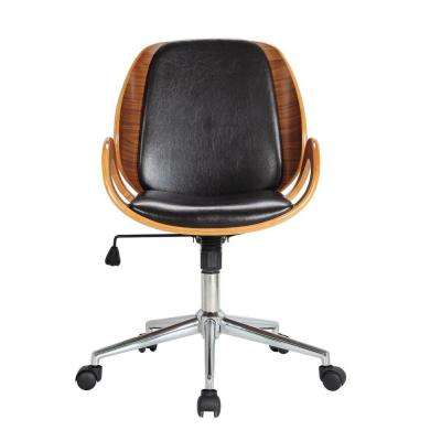 Mira Black Office Chair