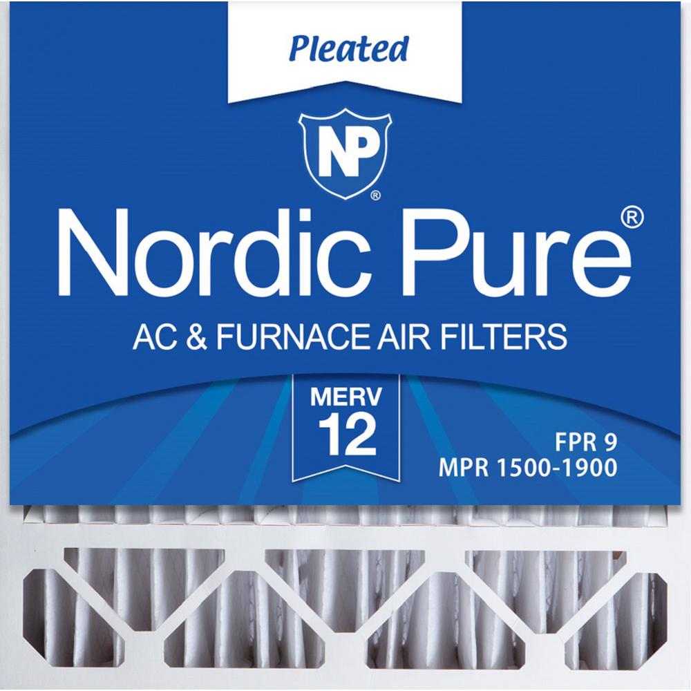 Nordic Pure 17/_1//4x29/_1//4x1 Exact MPR 1900 Healthy Living Maximum Allergen Reduction Replacement AC Furnace Air Filters 4 Pack