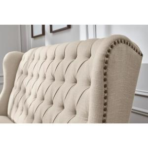 Surprising Home Decorators Collection Belcrest Upholstered Tufted Pabps2019 Chair Design Images Pabps2019Com