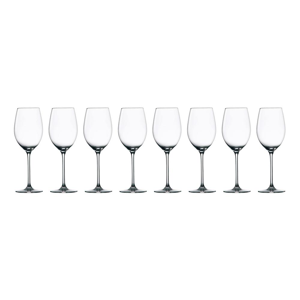 Marquis By Waterford Moments 12 8 Fl Oz Crystal White Wine Glasses Set Set Of 8 40033805 The Home Depot
