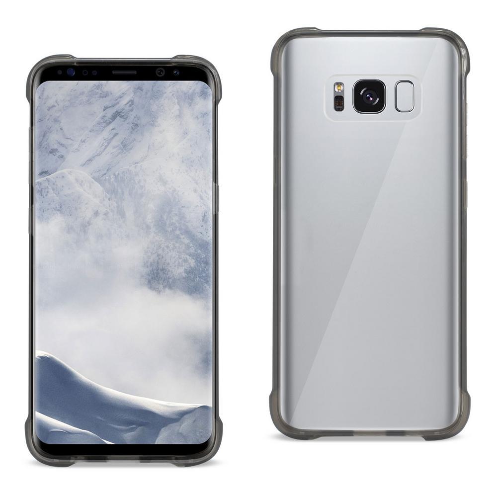 Galaxy S8 Edge Air Cushion Case in Clear Black