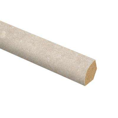 Sandstone Taupe 5/8 in. Thick x 3/4 in. Wide x 94 in. Length Vinyl Quarter Round Molding