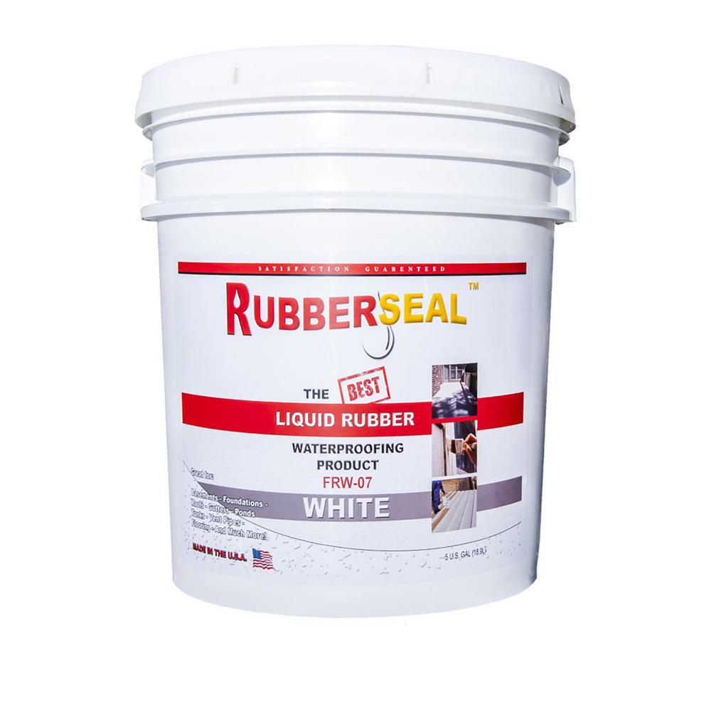 5 Gal. White Liquid Rubber
