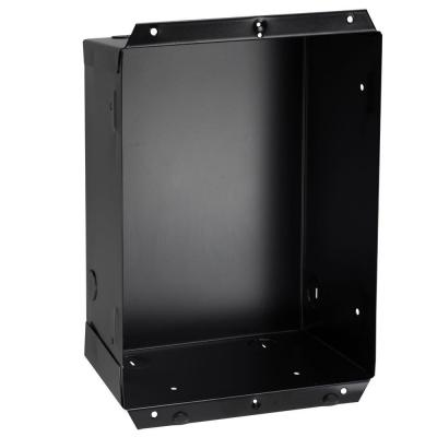 Com-Pak Plus/Max/Bath Series 8 in. W x 10-1/4 in. H x 4 in. D Recess Mount Wall Can Only in Black