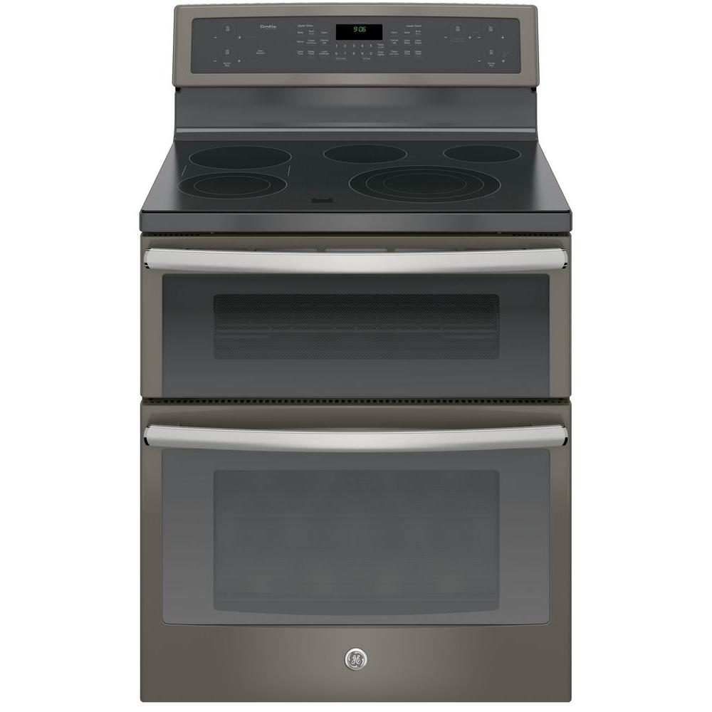 30 in. 6.6 cu. ft. Double Oven Electric Range with Self-Cleaning