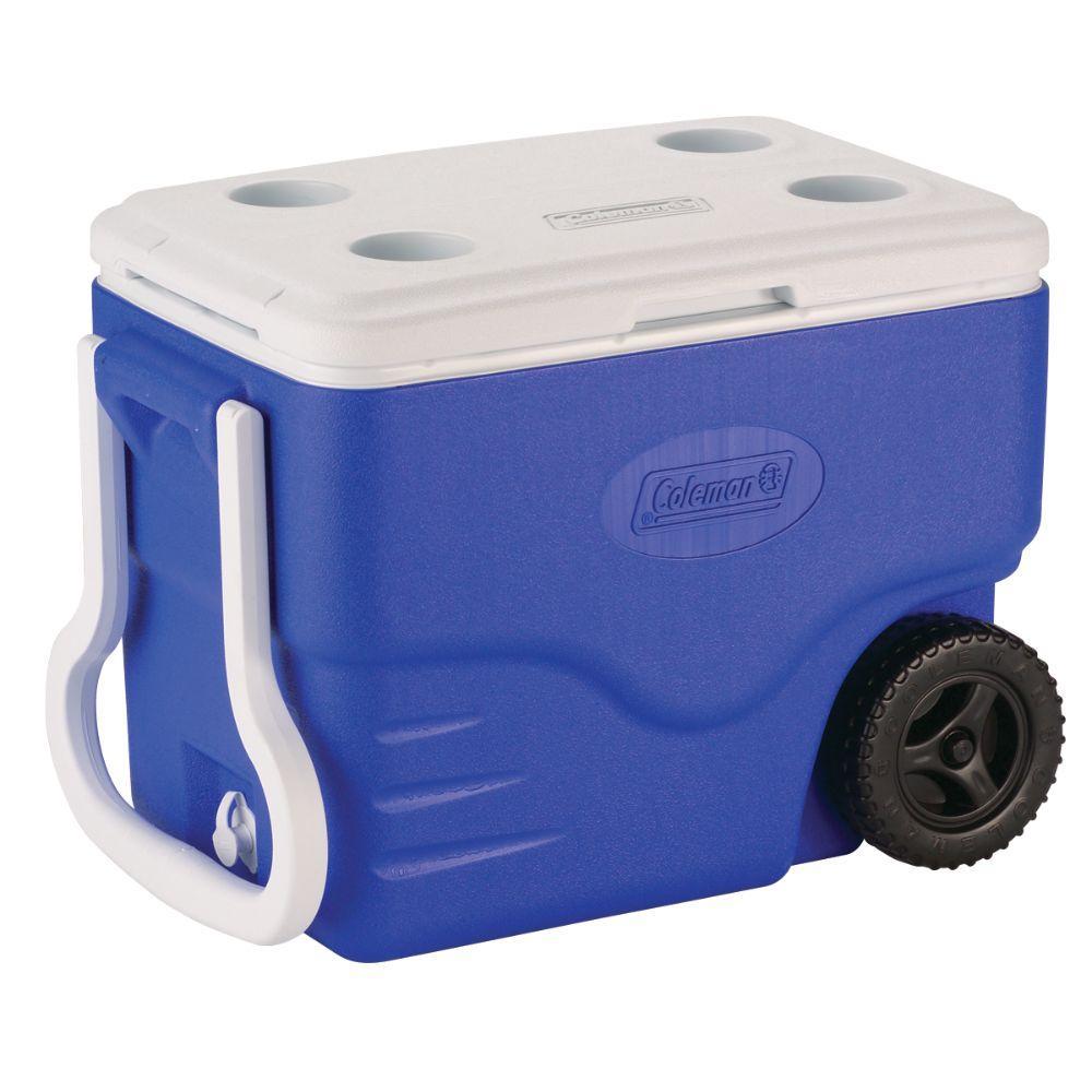 2-Wheeled 40 Qt. Cooler
