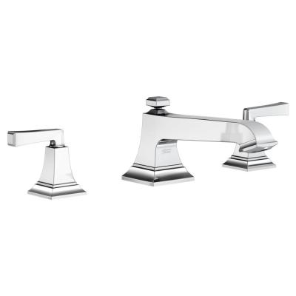 Town Square S 2-Handle Deck-Mount Roman Tub Faucet in Chrome