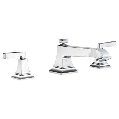 Town Square S 2-Handle Deck-Mount Roman Tub Faucet in Chrome