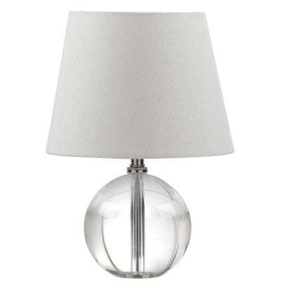 Mable 14 in. Clear Table Lamp