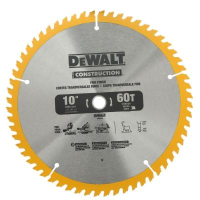 10 in. Construction Saw Blade (2-Pack)