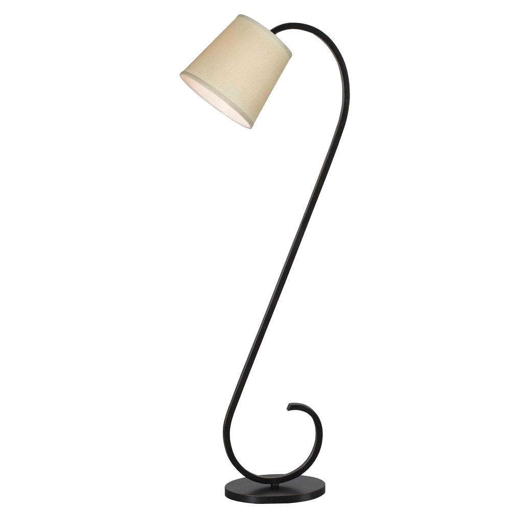 Kenroy Home Wilson 56 In. Oil Rubbed Bronze Floor Lamp