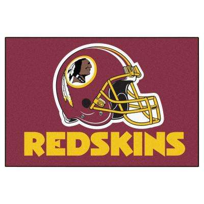 Washington Redskins 19 in. x 30 in. Accent Rug