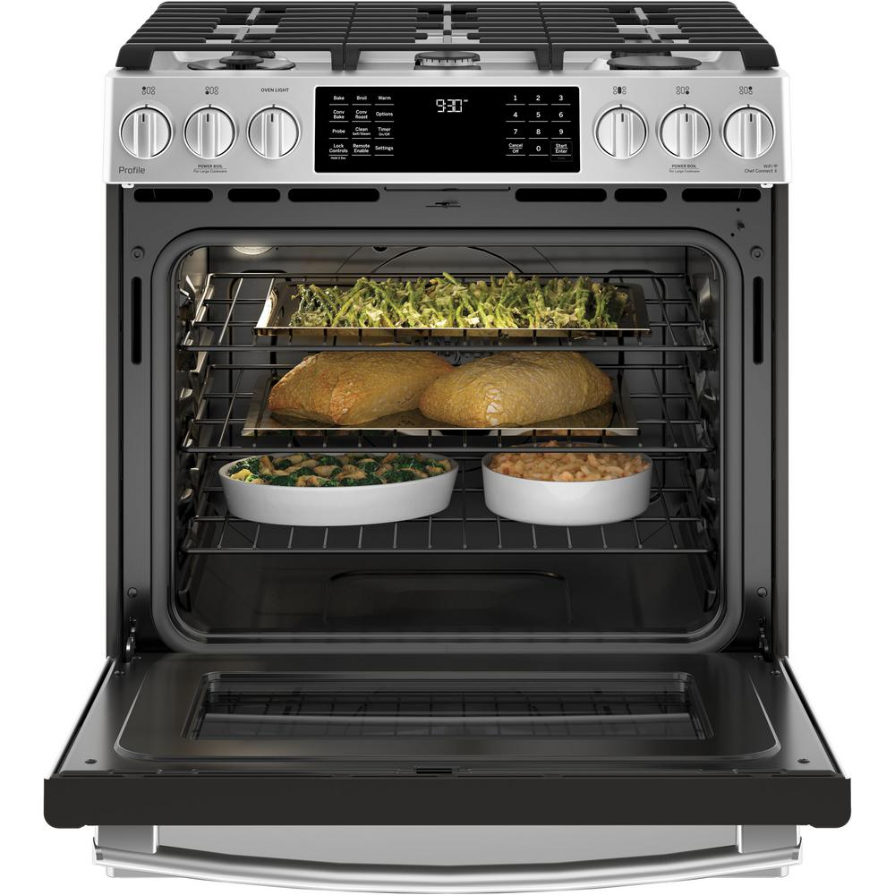 Appliances Freestanding Ranges ghdonat.com GE P2S930SELSS Sealed ...