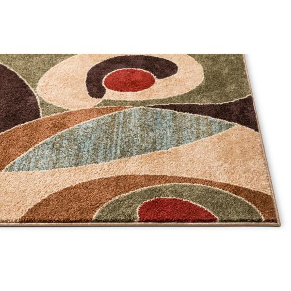 Reviews For Well Woven Sydney Zen Abstract Mid Century Autumn 2 Ft X 7 Ft Modern Runner Rug 21392 The Home Depot