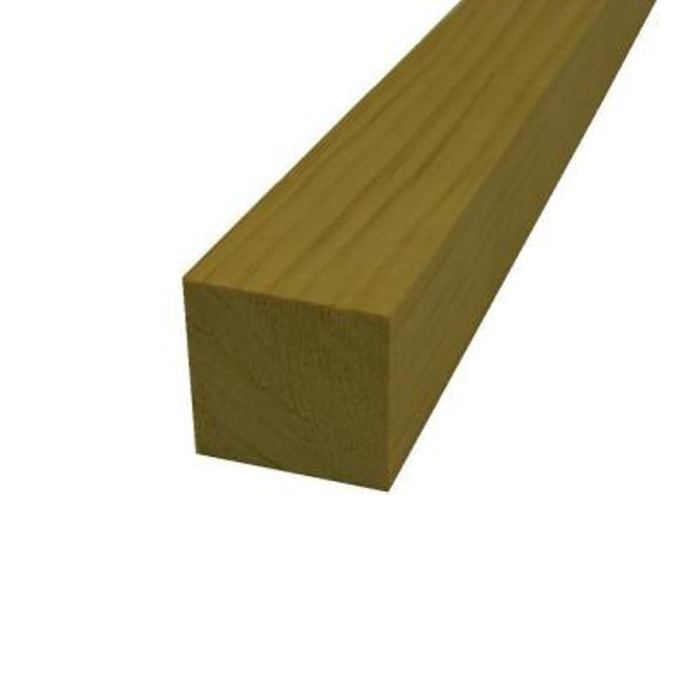 Claymark 2 in. x 2 in. x 8 ft. Select Pine Board