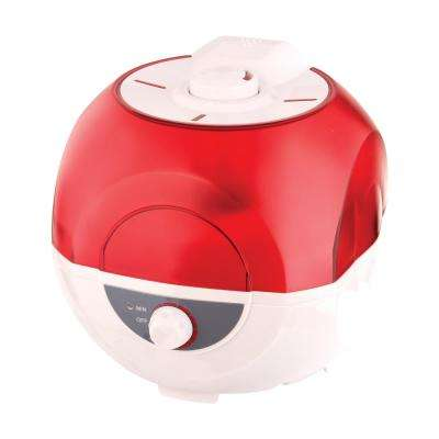 0.66 gal. Bubble Ultrasonic Cool Mist Humidifier
