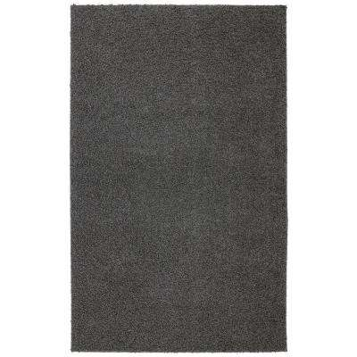 Modern Shag Earth Gray Tufted 8 ft. x 10 ft. Area Rug