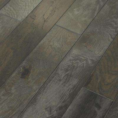 Take Home Sample - Majestic Hickory Grandview Engineered Click Hardwood Flooring - 5 in. x 8 in.