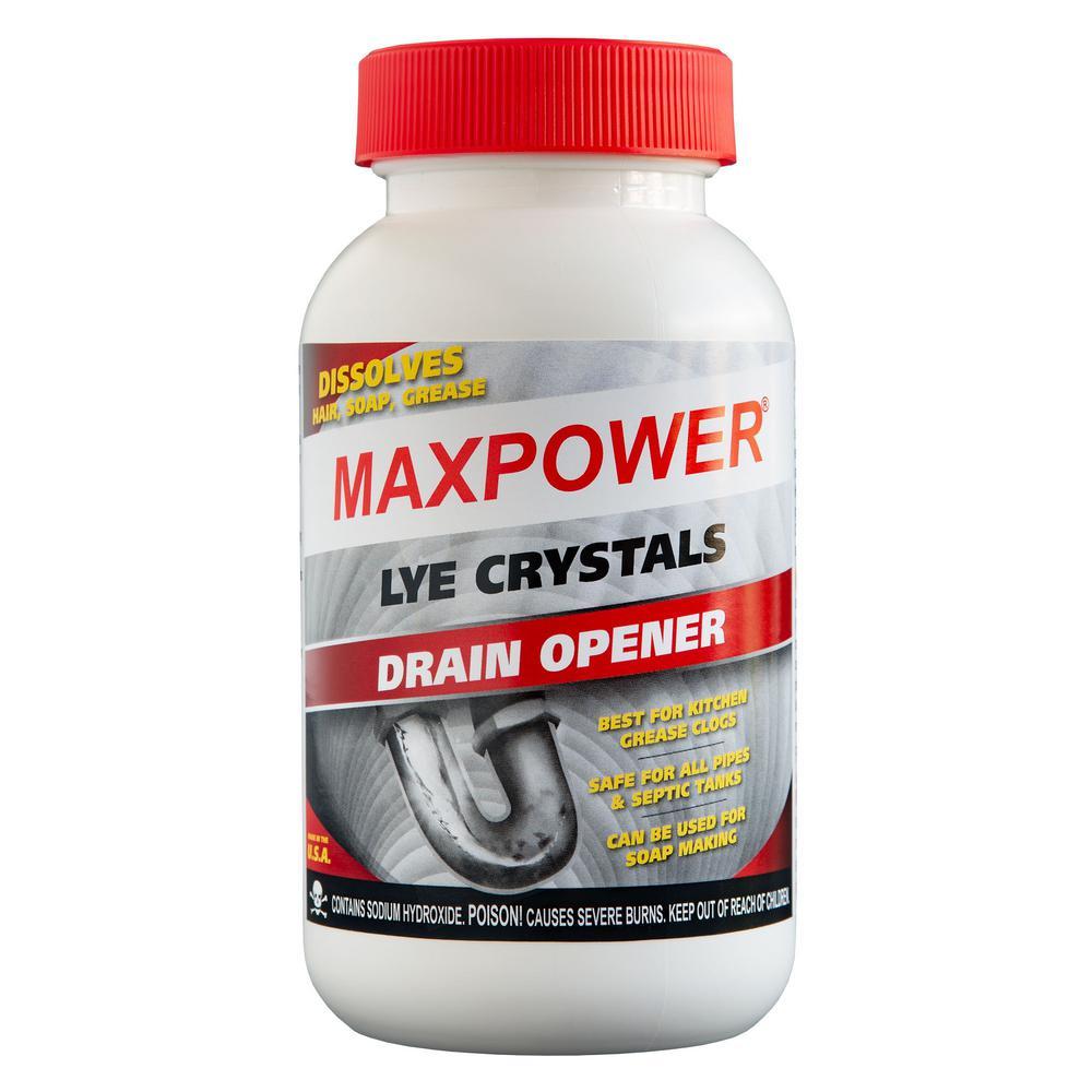 1 lb. Lye Crystals Drain Opener 6pk Case