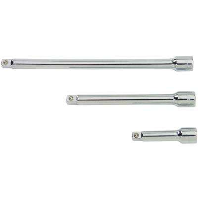 1/4 in. Drive Extension Bar Set (3-Piece)