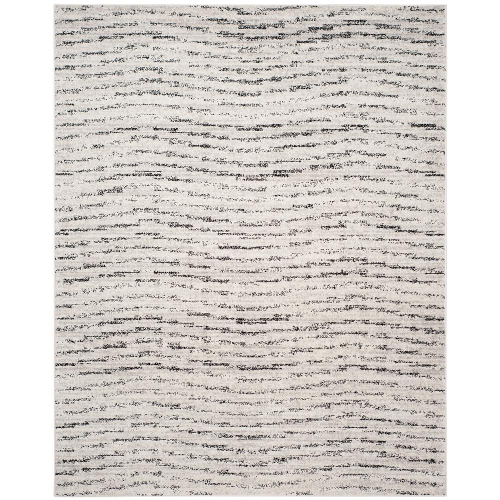Adirondack Ivory/Silver 9 ft. x 12 ft. Area Rug