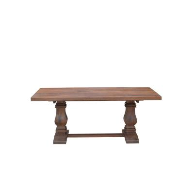 Aldridge Antique Walnut Rectangular Dining Table