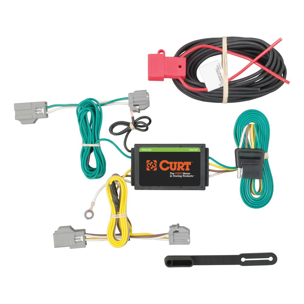 CURT Custom Wiring Harness (4-Way Flat Output) on electrical conduit, power cable, ground and neutral, plug switch, plug paint, plug gages, electric power distribution, power cord, three-phase electric power, plug connectors, knob-and-tube wiring, earthing system, national electrical code, plug outlets, plug safety, plug wires blue green brown, distribution board, extension cord, electric power transmission, plug dimensions, plug welding, plug sockets, junction box, alternating current, plug computer, plug doors, electrical engineering, electric motor, wiring diagram, plug valves, plug fans, circuit breaker, plug fuses, plug parts, plug electrical,