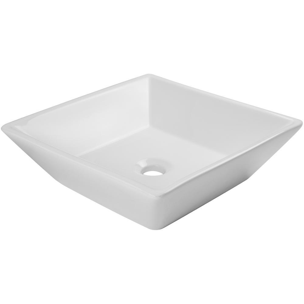Vessel Sink In White V2050 Wt