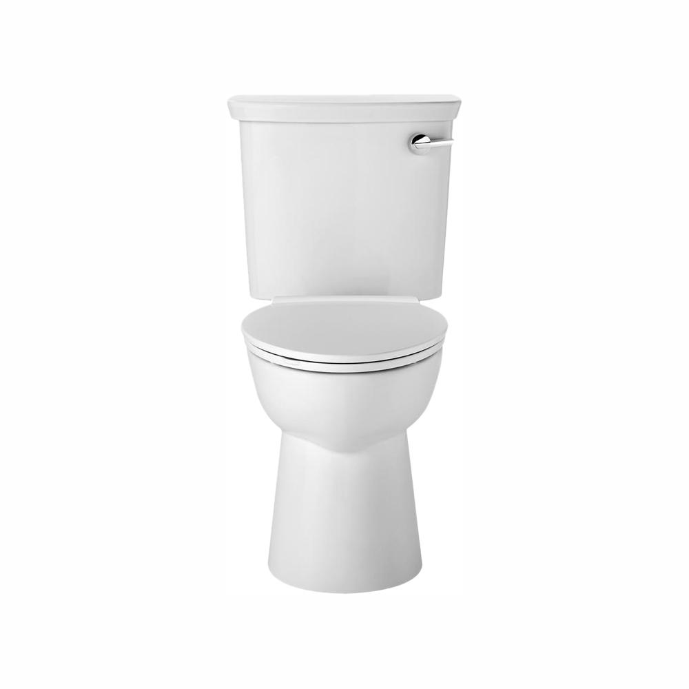 American Standard Vormax Uhet 2 Piece Toilet 1 0 Gpf Dual Flush Elongated Toilet In White 238aa115 020 The Home Depot