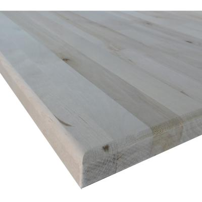1-1/2 in. x 30 in. x 60 in. Allwood Birch Project Panel/Island/Table Top with Routed Edges on One Face