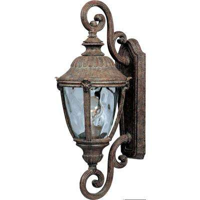 Morrow Bay Vivex 1-Light Earth Tone Outdoor Wall Mount