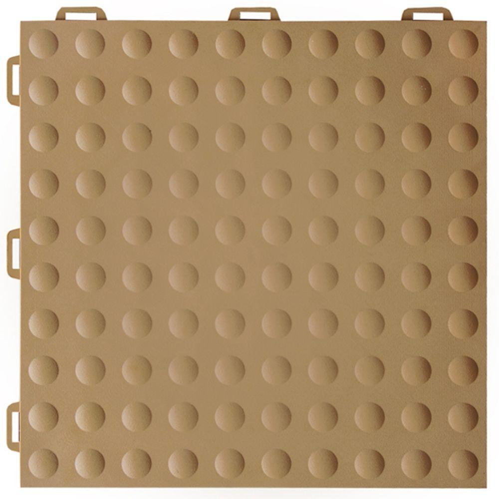 Greatmats staylock bump top brown 12 in x 12 in x 056 in pvc greatmats staylock bump top brown 12 in x 12 in x 056 in pvc plastic interlocking gym floor tile case of 26 stlbt12x12brn26 the home depot dailygadgetfo Choice Image