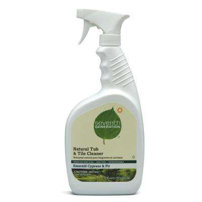 32 oz. Emerald Cypress and Fir Tub and Tile Cleaner Spray Bottle (8/Carton)