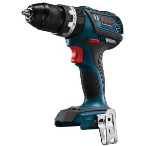 Bosch 18-Volt Lithium-Ion 1/2 inch Cordless EC Brushless Compact Tough Hammer Drill/Driver (Bare Tool) by Bosch