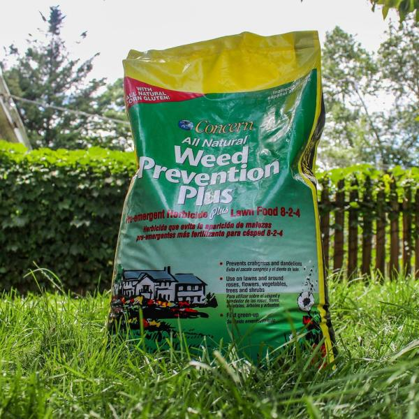 Concern 25 Lb Weed Prevention Plus 97185 The Home Depot