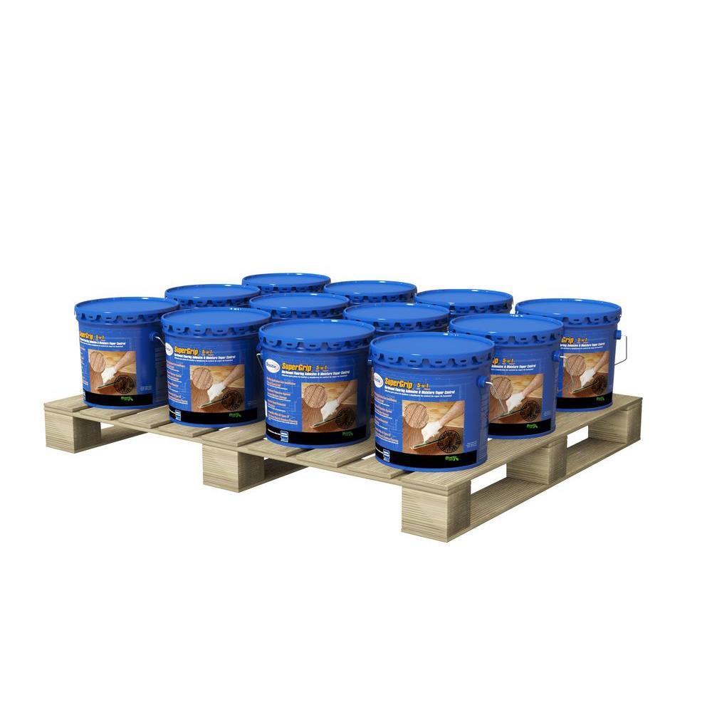 Custom building products reliabond 35 gal ceramic tile adhesive supergrip 35 gal urethane hardwood adhesive and moisture vapor control 12 pail dailygadgetfo Choice Image