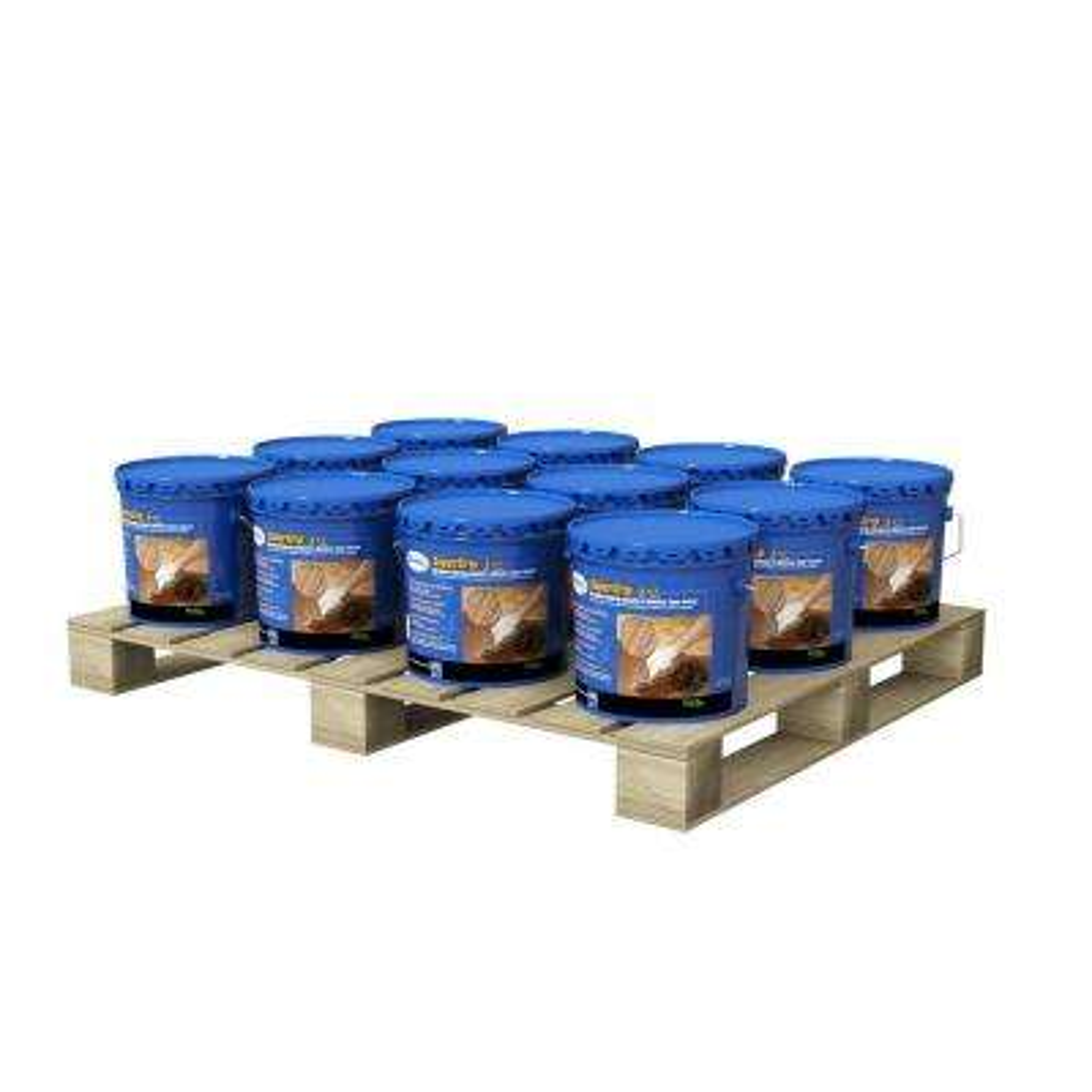 SuperGrip 3.5-Gal Urethane Hardwood Adhesive and Moisture Vapor Control (12 Pail Pallet)