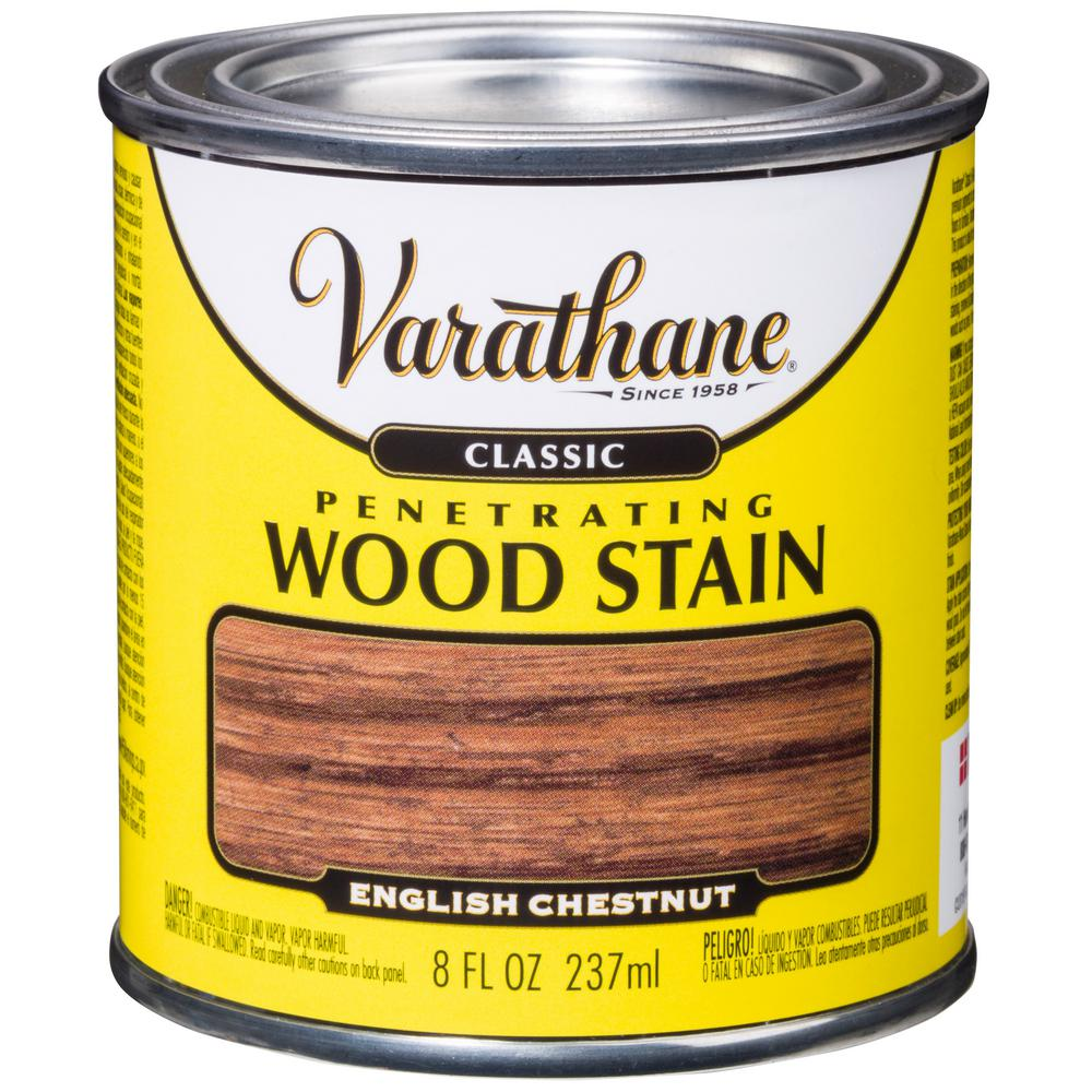 8 oz. English Chestnut Classic Wood Interior Stain (4-Pack)