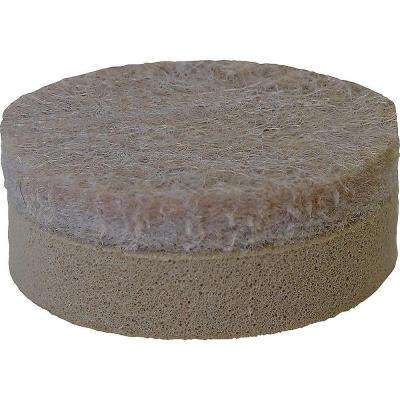 1 in. Self-Leveling Adhesive Felt Pads (8 per Pack)