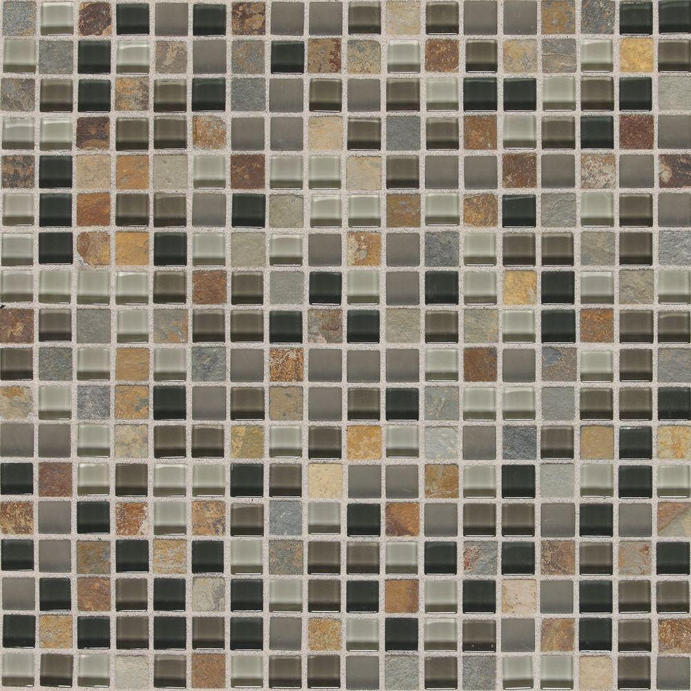 Slate Radiance Flint 11-3/4 in. x 11-3/4 in. x 8 mm