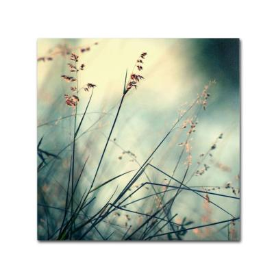 """18 in. x 18 in. """"About Hope"""" by Beata Czyzowska Young Printed Canvas Wall Art"""
