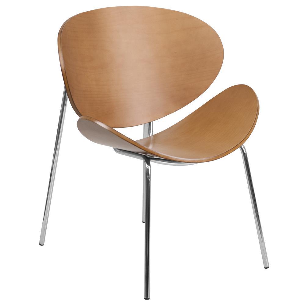 Flash Furniture Beech Bentwood Leisure Reception Chair