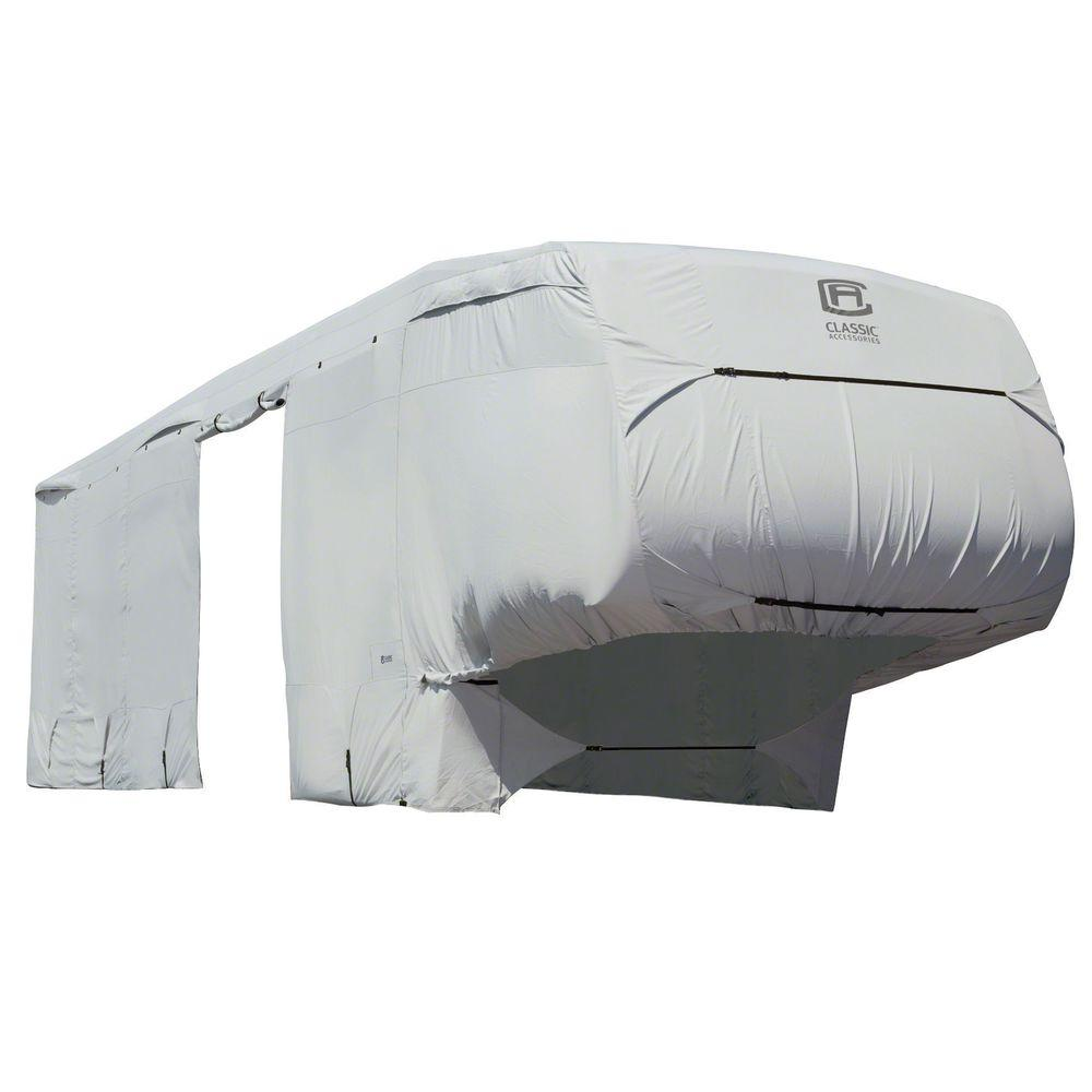 Classic PermaPro 26 to 29 ft. 5th Wheel Cover, Grey
