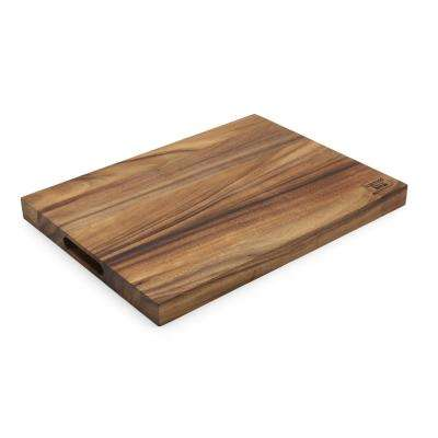 20 in. x 15 in. x 1.5 in. Acacia Large Rectangle Utility Board