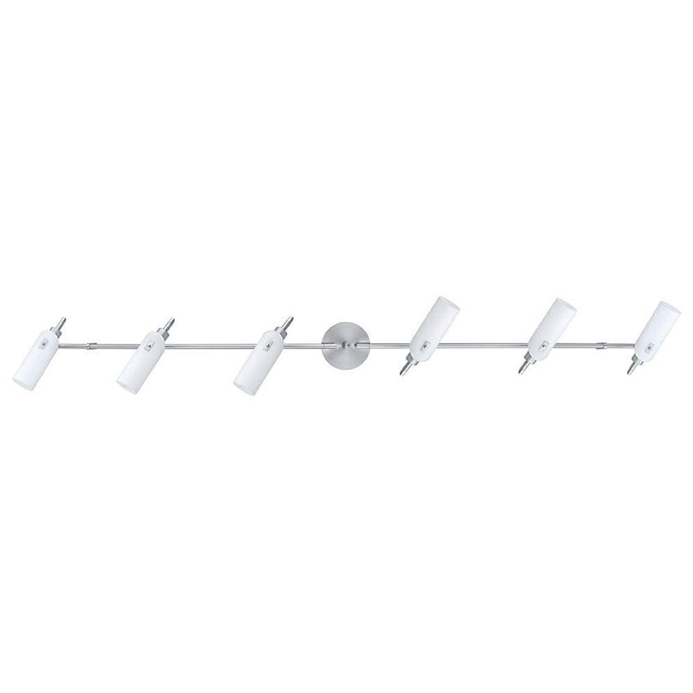 Eglo Garda 6-Light Matte Nickel Wall or Ceiling Light
