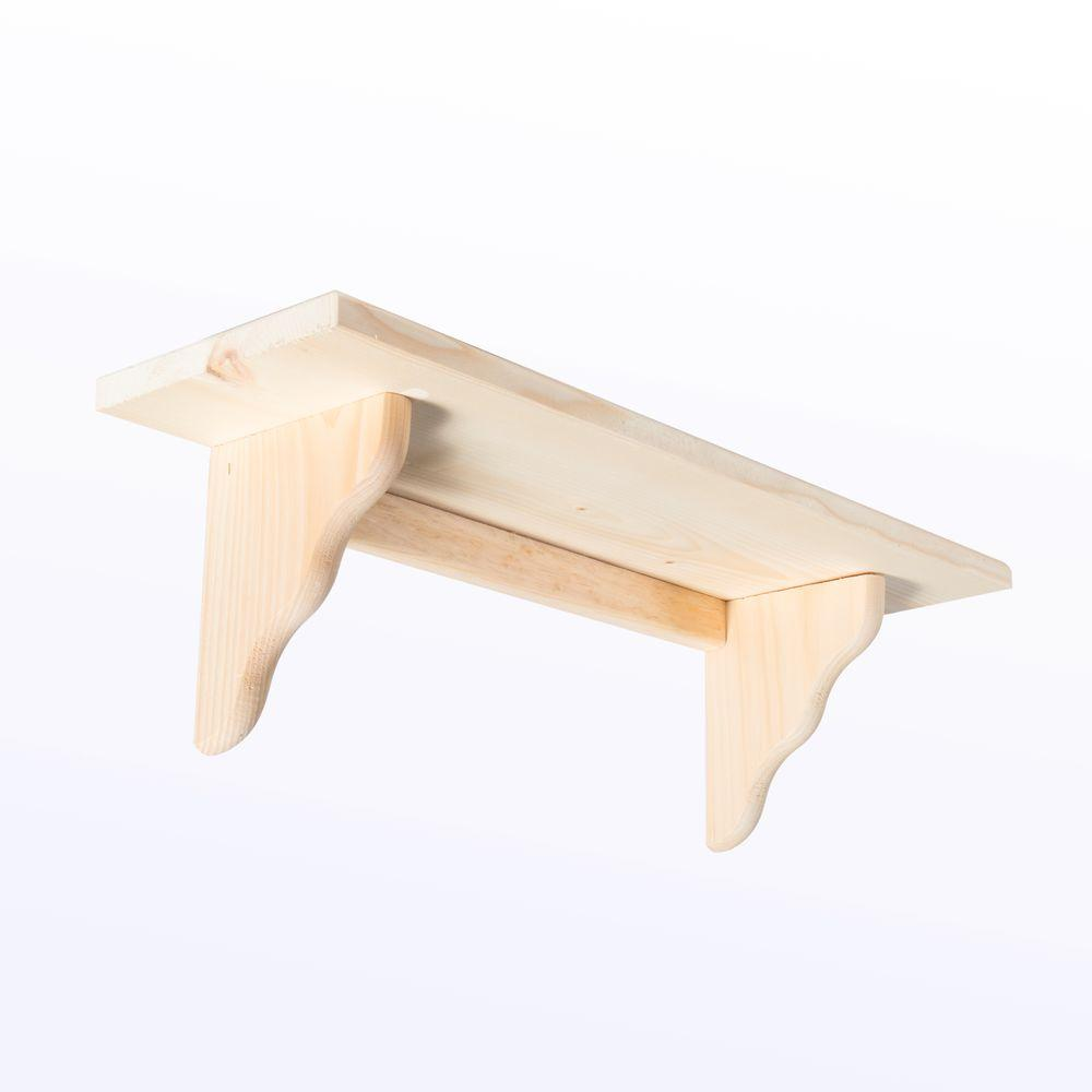 Houseworks Crates and Pallet - Small Wood Shelf - 23in x 7in-94614 ...
