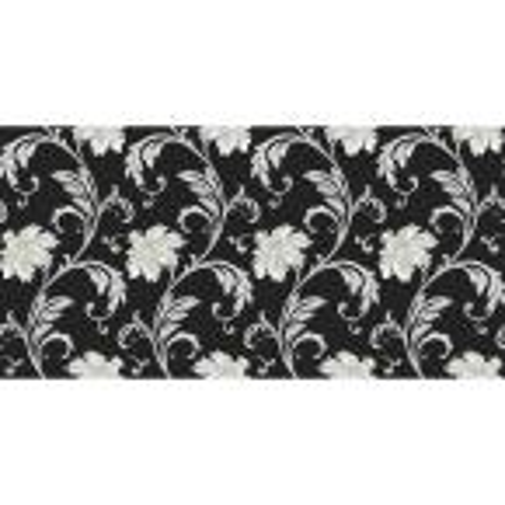 Norwall Floral Scroll Wallpaper