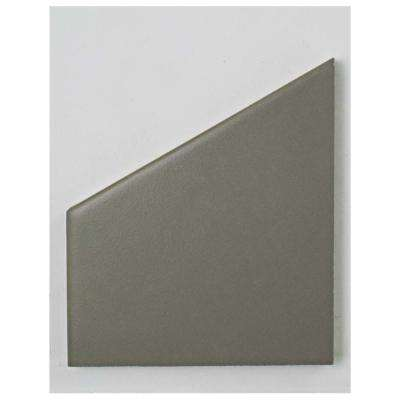 Hexatile Matte Gris Porcelain Floor and Wall Tile - 3 in. x 4 in. Tile Sample