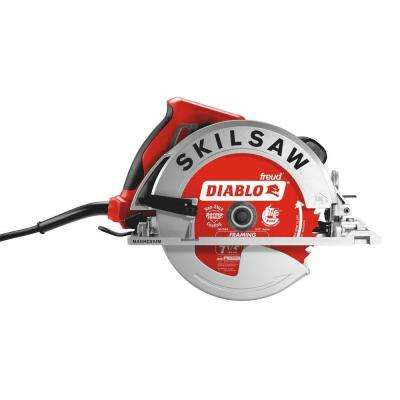 15 Amp Corded Electric 7-1/4 in. Lightweight SIDEWINDER Circular Saw with 24-Tooth Diablo Carbide Blade