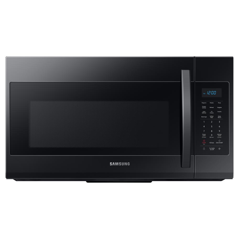 Samsung 30 in. 1.9 cu. ft. Over-the-Range Microwave in Black